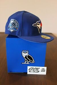 2013-NEW-ERA-OVO-DRAKE-TORONTO-BLUE-JAYS-FITTED-CAP-HAT-amp-BOX-7-1-2-six