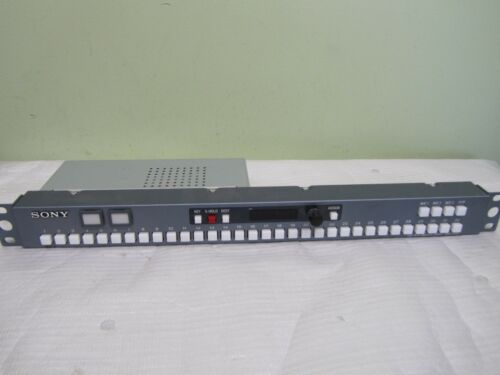 Sony MKS-8080 in Ex 32-BUTTON AUXILIARY BUS RACKMOUNT REMOTE PANEL