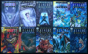 ALIENS-Colonial-Marines-1-10-COMPLETE-COMIC-SET-Sci-Fi-1993-MOVIE-SEQUEL-NM