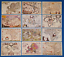 Collection-of-30-Vintage-Antique-Reproduction-Map-Postcards-Made-in-the-UK thumbnail 2