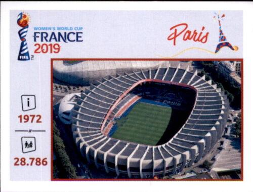 Orte und Stadien Panini Frauen WM 2019 Sticker 17 Parc des Princes