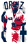 DAVID ORTIZ art print//poster BOSTON RED SOX FREE S/&H JERSEY