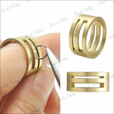 1Pc 19mm Raw Brass High quality cheaper Jump Ring Open Tools wholesale TL0016