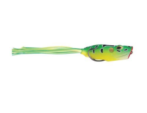 Esca artificiale da pesca a spinning Storm Bloop Frog black bass rana gomma soft