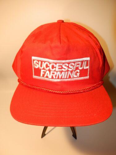 Successful Farming Snapback Cap Red Dad Hat