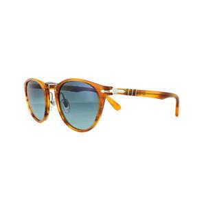 5c2005102907b Persol Sunglasses 3108 960 S3 Striped Brown Blue Polarized 49mm ...