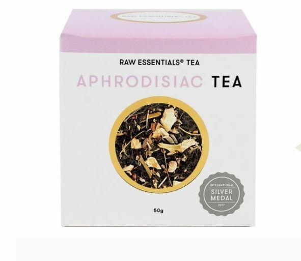3 x 50g Raw Essentials Tea Aphrodisiac Loose Leaf Tea 150g