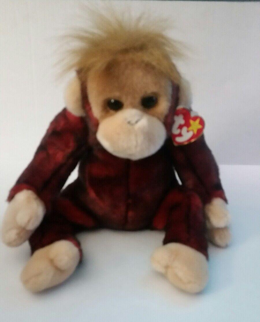8d945542431 NWT baby monkey orangutan schweetheart 1999 Ty beanie ndzxvf1020-Toys    Hobbies