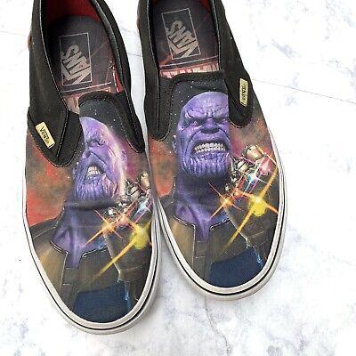 Marvel Vans LE Classic Slip ons Shoes