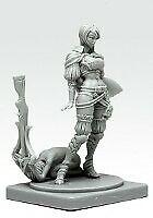 Pinup-Great-Game-Hunter-Model-for-Kingdom-Death-Game-Resin-Figure-Recast-30-mm