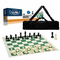 Wood Expressions Deluxe Tournament Chess Set With Canvas Bag And Triple Weighted on sale