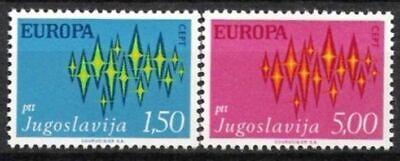Cept 1972 Postfrisch Hilfreich Jugoslawien Nr.1457/58 ** Europa