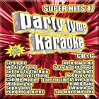 Party Tyme Karaoke: Super Hits, Vol. 17 by Karaoke (CD, May-2012, Sybersound Records)