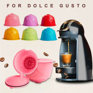 Reusable Filter Cup Filter Basket Coffee Capsule Capsules Pods For Dolce Gusto