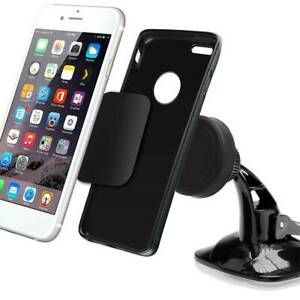 Suction-Phone-Holder-Dashboard-Windscreen-Universal-Mount-Rotatable-In-Car-Black