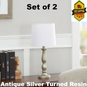 Table Lamp Lamps For Bedroom Nightstand Living Room Set Of