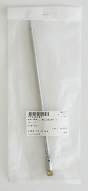 GENUINE Sony parts 175437611 CFDS350 Telescoping Antenna