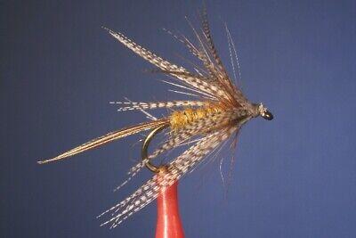 3 Stück olive Parachute Maifliege mit Extended Body Fliegentom Trockenfliege