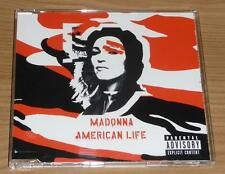 MADONNA American Life GERMAN 3 TRACK CD SINGLE (CD 1) 9362-42615-2 MINT!!
