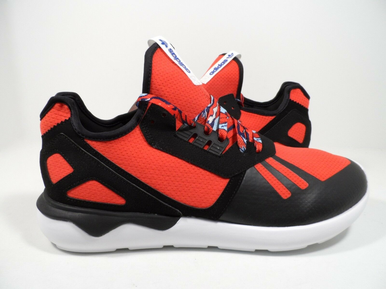 Adidas Originals Mens Tubular Runner Red Black White Size 12