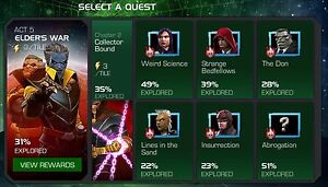 Marvel Contest of Champions | Uncollected - Collector's Act 5.2 (1 path )