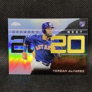 2020 Topps Chrome Yordan Alvarez RC Decades Next Houston Astros Rookie #4