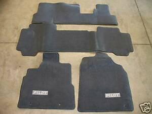 Image Is Loading Genuine OEM 2003 Honda Pilot Gray Carpet Floor