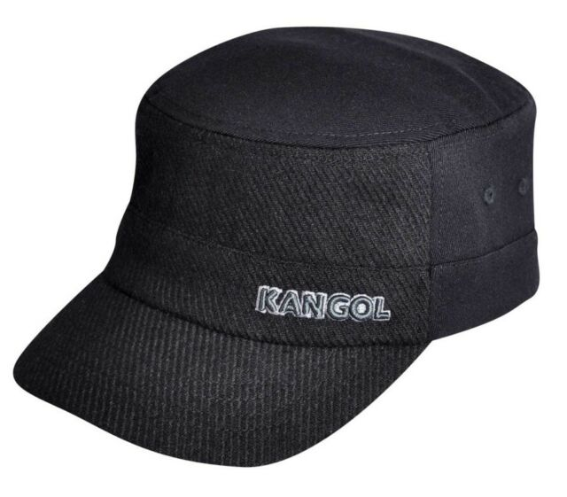 30697488ca02a Kangol Black Textured Wool Flexfit Army Cap Style K0471fa S m for ...