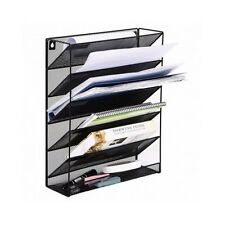 Home Office File Storage Holder Organiser A4 Doent Paper Letter Wall Mounted