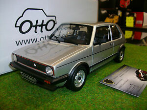volkswagen golf gti rabbit argent au 1 18 ottomobile ot563 voiture miniature ebay. Black Bedroom Furniture Sets. Home Design Ideas