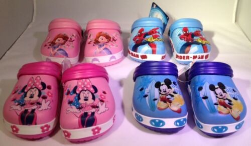 Disney Clogs in verschiedenen Motiven und Größen Pantoffeln Kindergartenschuhe