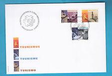 BUSTA PRIMO GIORNO SVIZZERA SWISSS TURISMO TOURISME TOURISM FDC FIRST DAY COVER