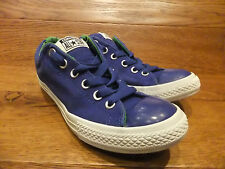 Converse CT All star Low  Blue Canvas Trainer Sneaker Size UK 5 EUR 38