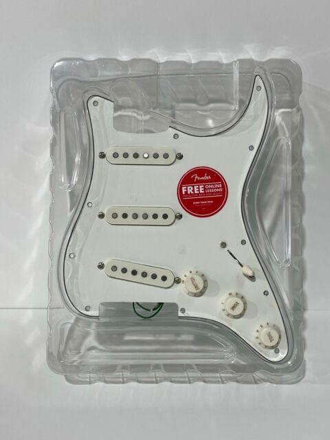 Fender Squier Standard Stratocaster LOADED PICKGUARD - New Open Box