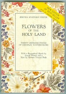 FLOWERS-OF-THE-HOLY-LAND-BY-BERTHA-SPAFFORD-VESTER-COPYRIGHT-1966