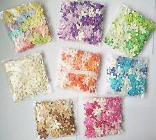 100 Blossom Flower Mulberry paper Flower Wedding Scrapbooking Crafts DIY  20mm