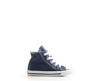 Scarpe Converse Bambini Sneakers Blu Tessuto 7j233blu Prezzo Più Conveniente Dal Nostro Sito