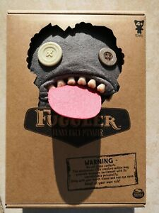 Fuggler-Oogah-Boogah-Grey-Felt-New-Collectable-Soft-Toy-9-Inch