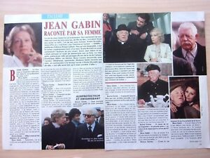 Clippings-Press-Jean-Gabin-4-Pages-IN-1988-Ref-57490