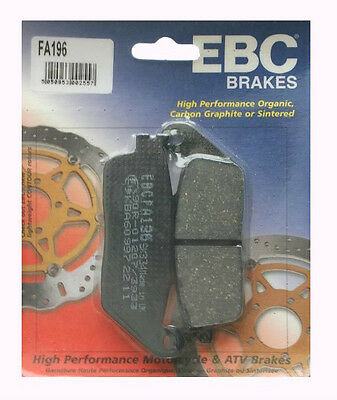 Honda ST1100 Non ABS 1990 to 2002 EBC Organic REAR Disc Brake Pads FA196