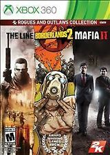 2K Rogues and Outlaws Collection MAFIA BORDERLANDS SPEC OPS LINE Xbox 360, 2013)