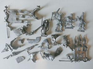 Huge-Multi-listing-Bretonnian-Knights-Grail-Lord-Sorceress-Metal-models-Rare-OOP