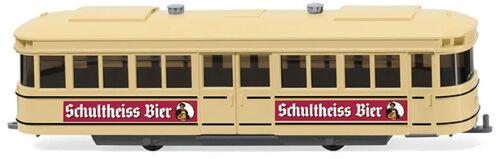 """Wiking 074901-1//87 tram-rimorchio /""""Schultheiss-BIRRA/"""" NUOVO"""