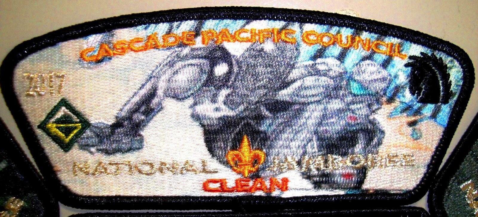 CASCADE PACIFIC WA OA 442 2017 JAMBOREE SCOUT LAW LAW LAW OBEDIENT 7-PATCH DELEGATE HALO 5fcc6e