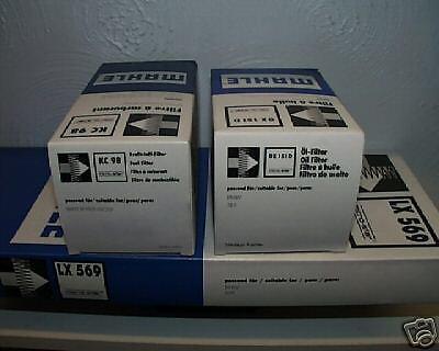 VW Beetle 2.0 1984cc Oil Air Pollen Filter Service Kit Genuine Mahle 1998-2011