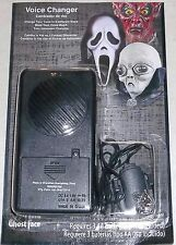 HALLOWEEN  DECORATION PROP  HAUNTED HOUSE VOICE CHANGER MONSTER/ALIEN AND....