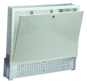 Cassetta per collettori riscaldamento a pavimento impianto radiante cm120 bianca ebay - Collettori per riscaldamento a pavimento ...