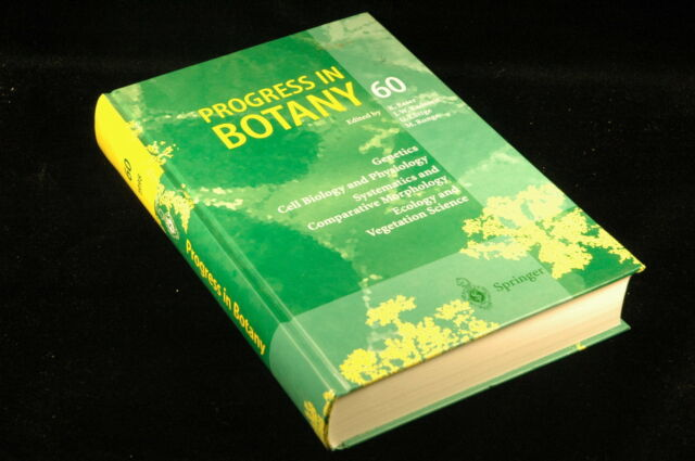 Progress in Botany 60,  - Springer Hardcover Book