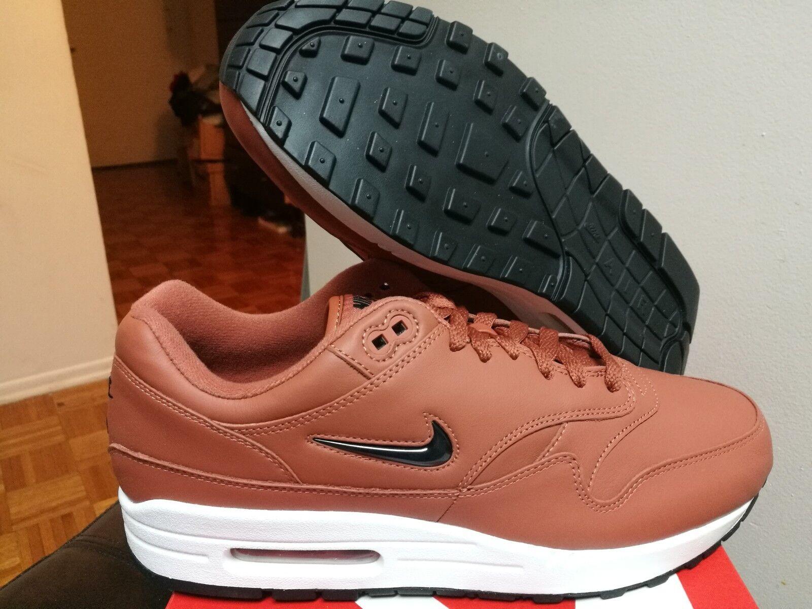 Men's Nike Air Max 1 Premium SC Jewel Dusty Peach Black White 918354-200
