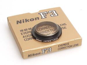 Nikon Augenkorrekturlinse / Eyepiece Correction Lens +3.0 Dioptrien